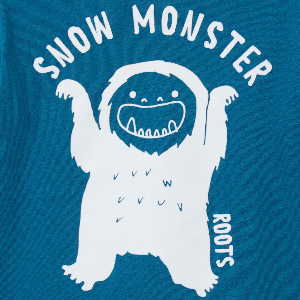 Roots-undefined-Toddler Snow Monster T-shirt-undefined-C