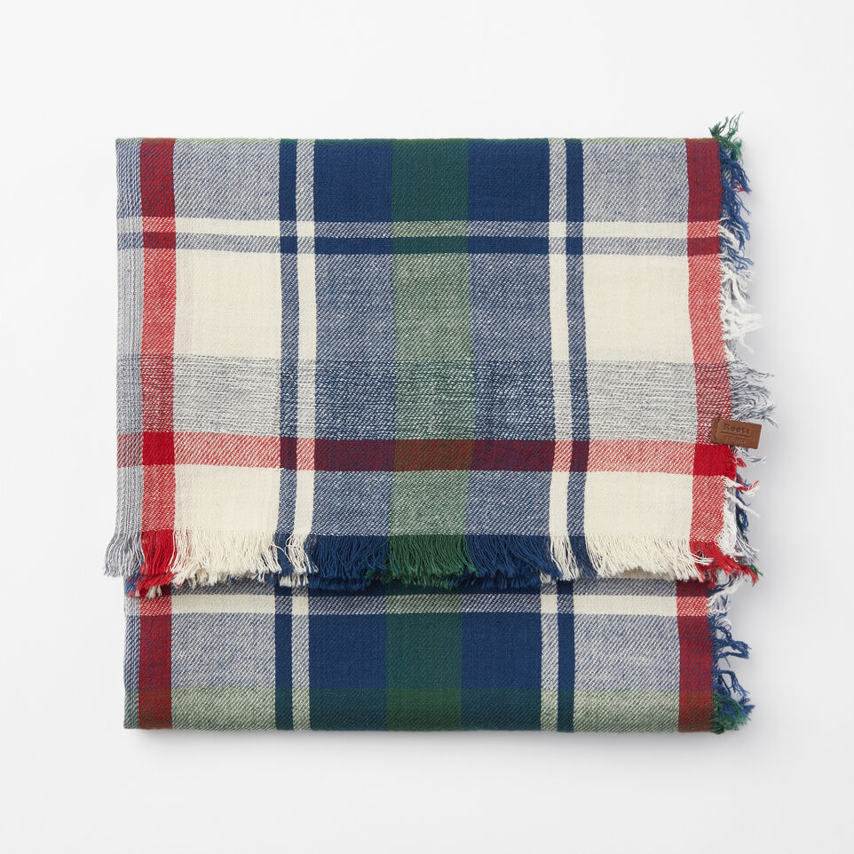 Roots-undefined-Boyfriend Plaid Shawl-undefined-A