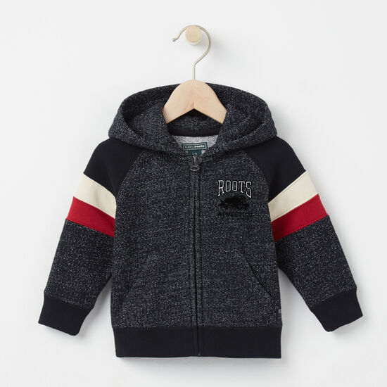 Baby Colour Block Full Zip Hoody