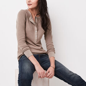Roots-Women New Arrivals-Louise Henley-Oatmeal Mix-A
