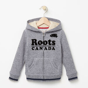 Roots-Kids The Roots Cabin Collection™-Toddler Roots Cabin Full Zip Hoody-Navy Blazer Pepper-A