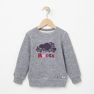Roots-Kids Toddler Girls-Toddler Original Sweatshirt-Salt & Pepper-A