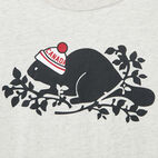 Roots-undefined-Girls Pom Pom Beaver T-shirt-undefined-C