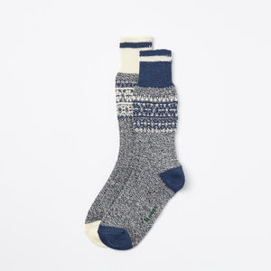 Roots-Women Socks-Melissa Cabin Sock 2 Pack-Insignia Blue-A
