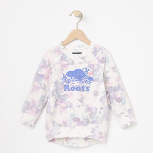 Roots-Kids Toddler Girls-Toddler Watercolour Tunic-Cloudy White-A