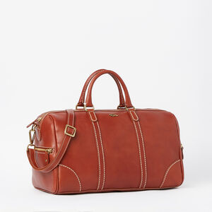 Roots-Leather Shoulder Bags-Banff Satchel Veg-Oak-A