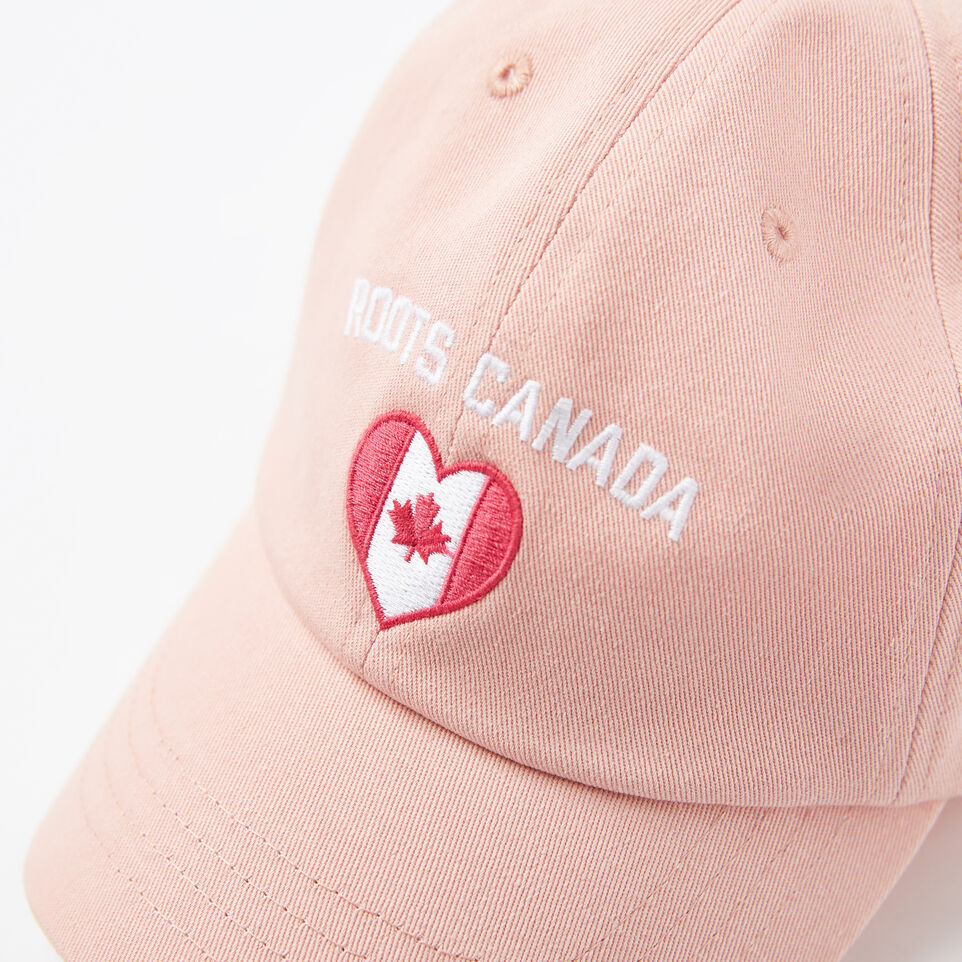 Roots-undefined-Girls Canadian Heart Baseball Cap-undefined-D
