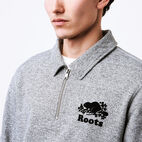 Roots-undefined-Roots Salt and Pepper Original Zip Polo-undefined-D