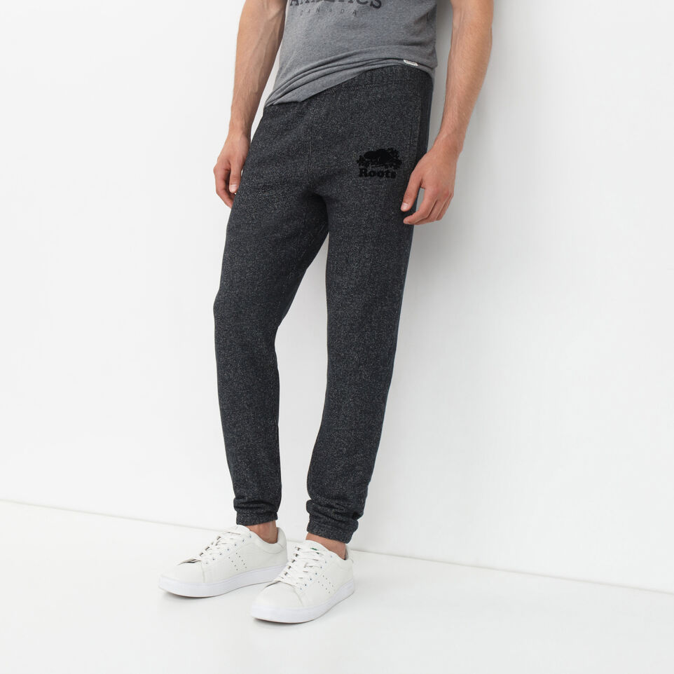 Roots-undefined-Roots Black Pepper Slim Sweatpant-undefined-A