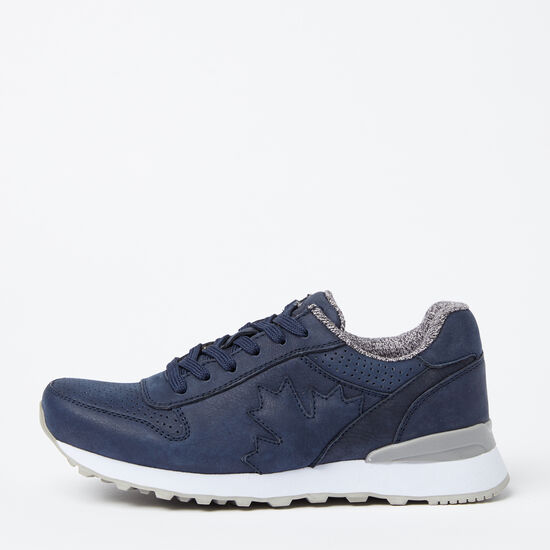 Roots-Shoes Shoes-Womens Trans Canada Jogger Nubuck-Navy-A