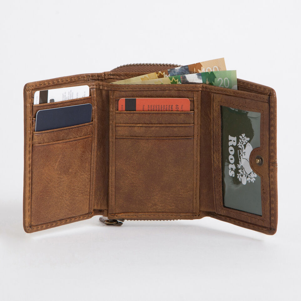 Roots-undefined-Small Trifold Clutch Tribe-undefined-B