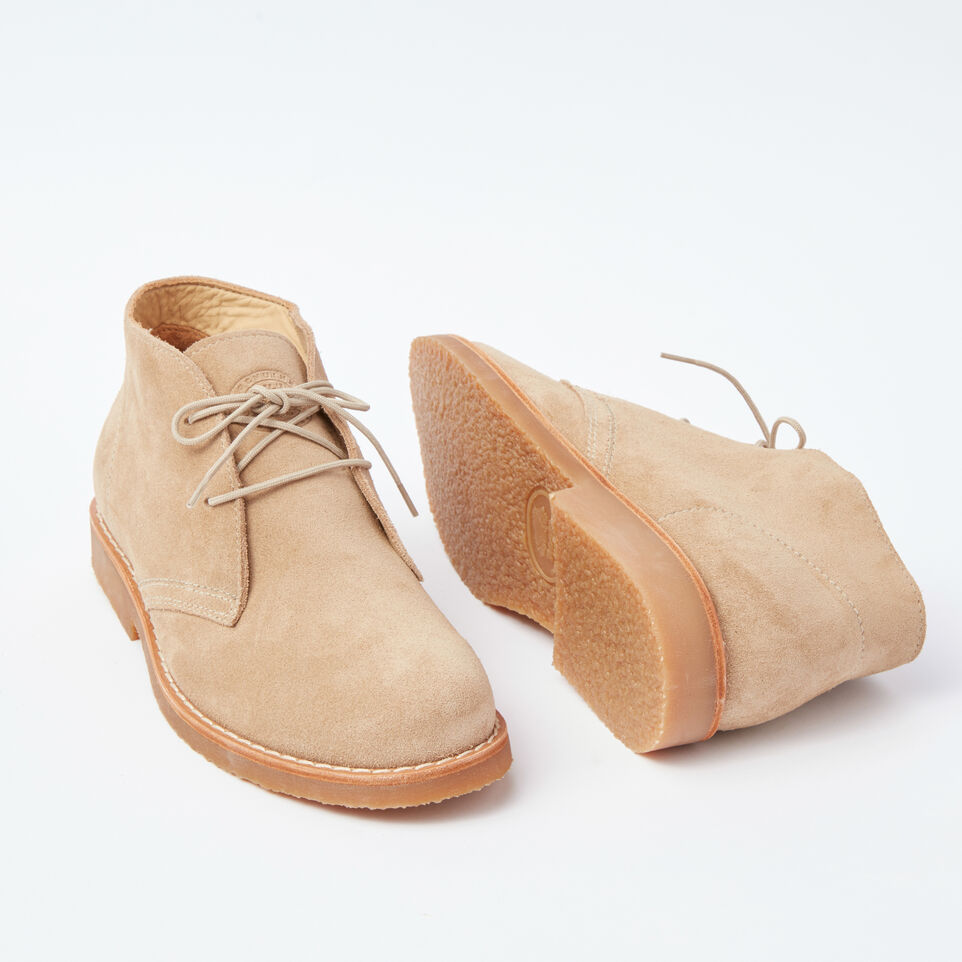 Roots-undefined-Botte Chukka cuir Suede pour hommes-undefined-E
