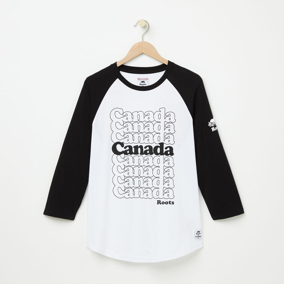 Roots-undefined-Mens Canada Stacked Baseball Tee-undefined-A