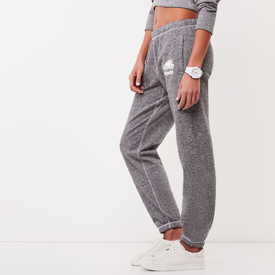 Roots-Women Original Sweatpants-Roots Salt and Pepper Original Sweatpant Short-Salt & Pepper-A