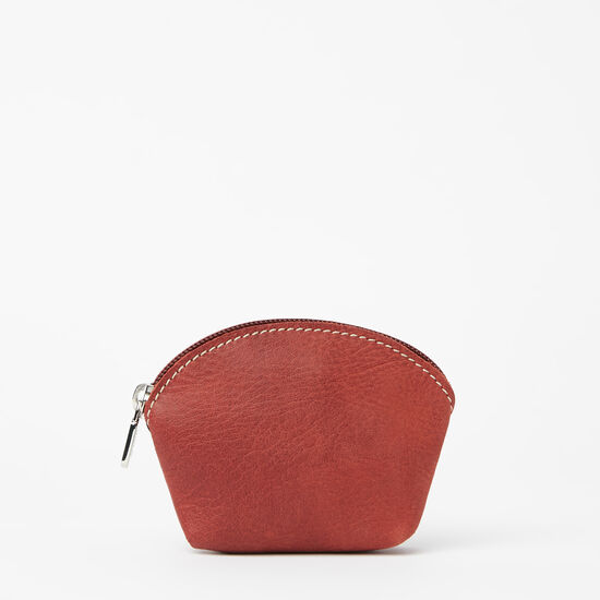 Roots-Leather Leather Pouches-Small Euro Pouch Tribe-Paprika-A