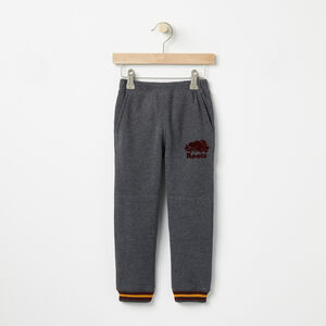 Roots-Kids Bottoms-Toddler Hamilton Slim Sweatpant-Charcoal Mix-A