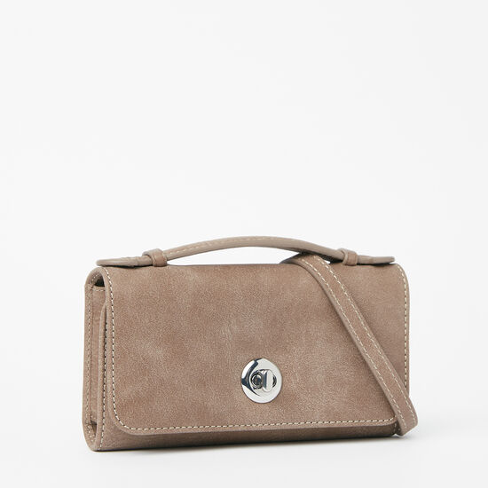 Roots-Leather Wallets-Turnlock Wallet Bag Tribe-Fawn-A
