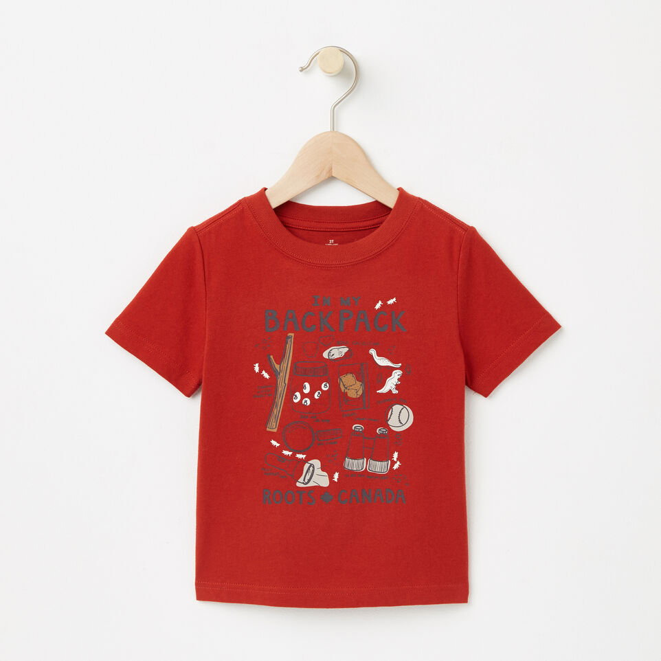 Roots-undefined-Toddler In My Backpack Glow T-shirt-undefined-A