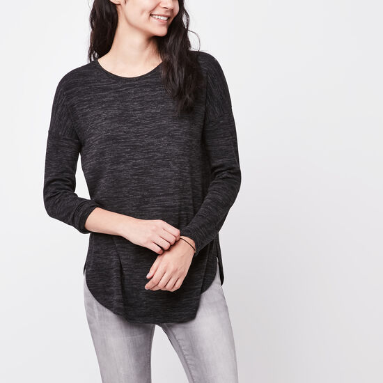 Roots-Women Sweaters & Cardigans-Melissa Top-Black Mix-A