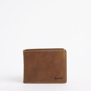 Roots-Leather Men's Wallets-Mens Slimfold Side Flap Tribe-Africa-A