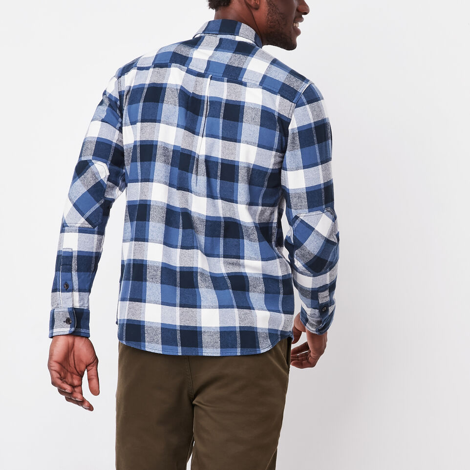 Roots-undefined-Stoney Point Flannel Shirt-undefined-D
