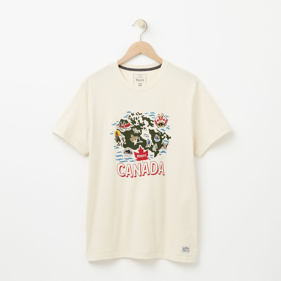 Roots-undefined-T shirt Organique Rideau-undefined-A