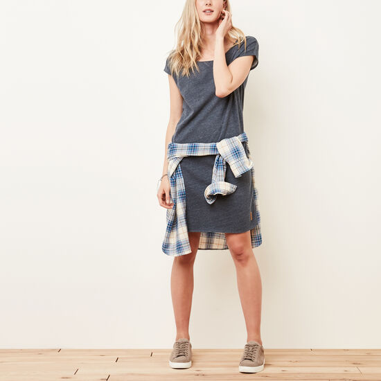 Roots-Women Bestsellers-Northway Dress-Denim Blue Mix-A