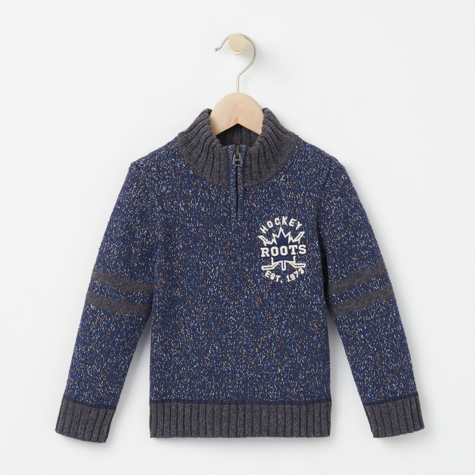 Roots-undefined-Toddler Hockey Zip Stein Sweater-undefined-A