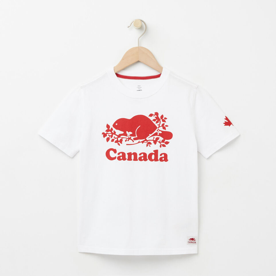 Roots-undefined-Garçons T-shirt Canada Cuivre-undefined-A