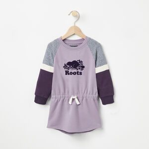 Roots-Sale Kids-Baby Varsity Tunic-Purple Ash-A