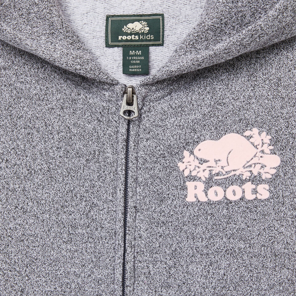 Roots-undefined-Girls Cooper Long Full Zip Hoody-undefined-C