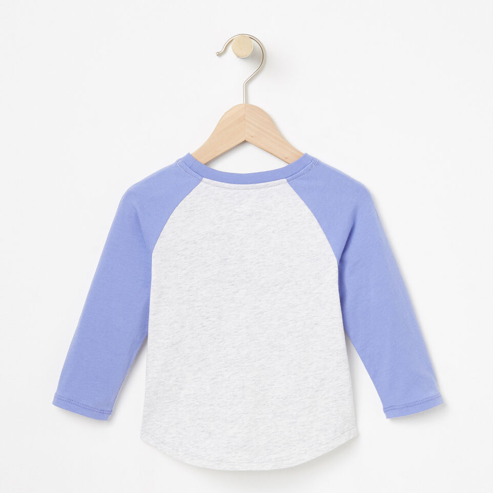 Roots-undefined-Baby Watercolour Baseball Top-undefined-B