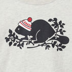 Roots-undefined-Toddler Pom Pom Beaver T-shirt-undefined-C