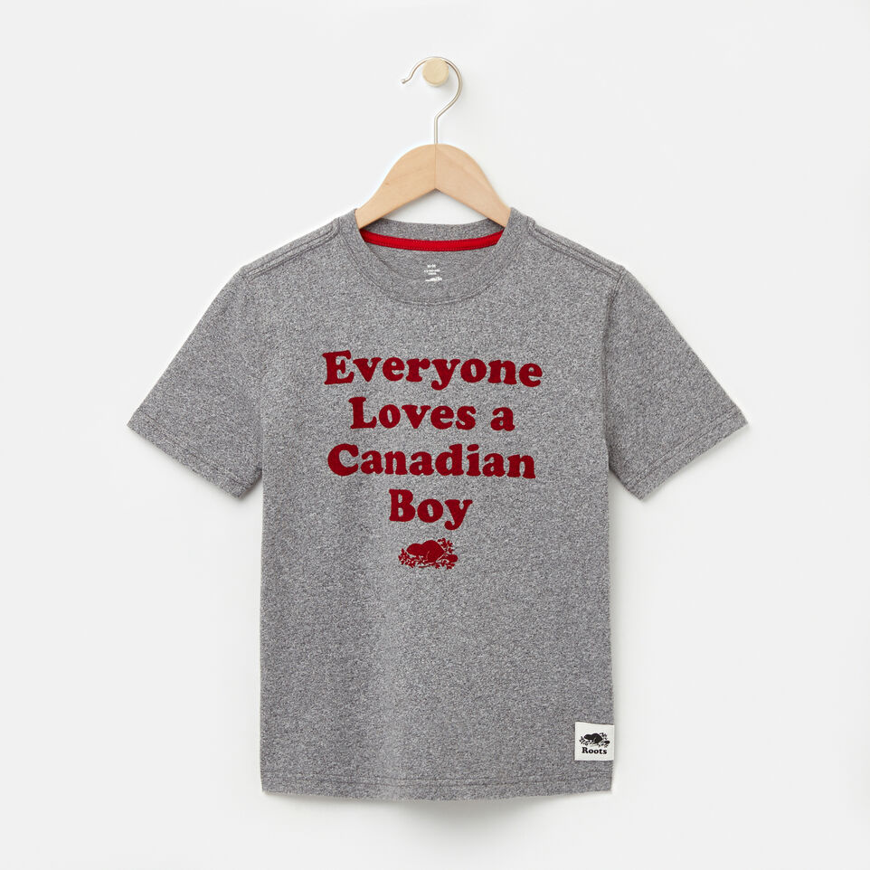 Roots-undefined-Boys Canadian Boy T-shirt-undefined-A