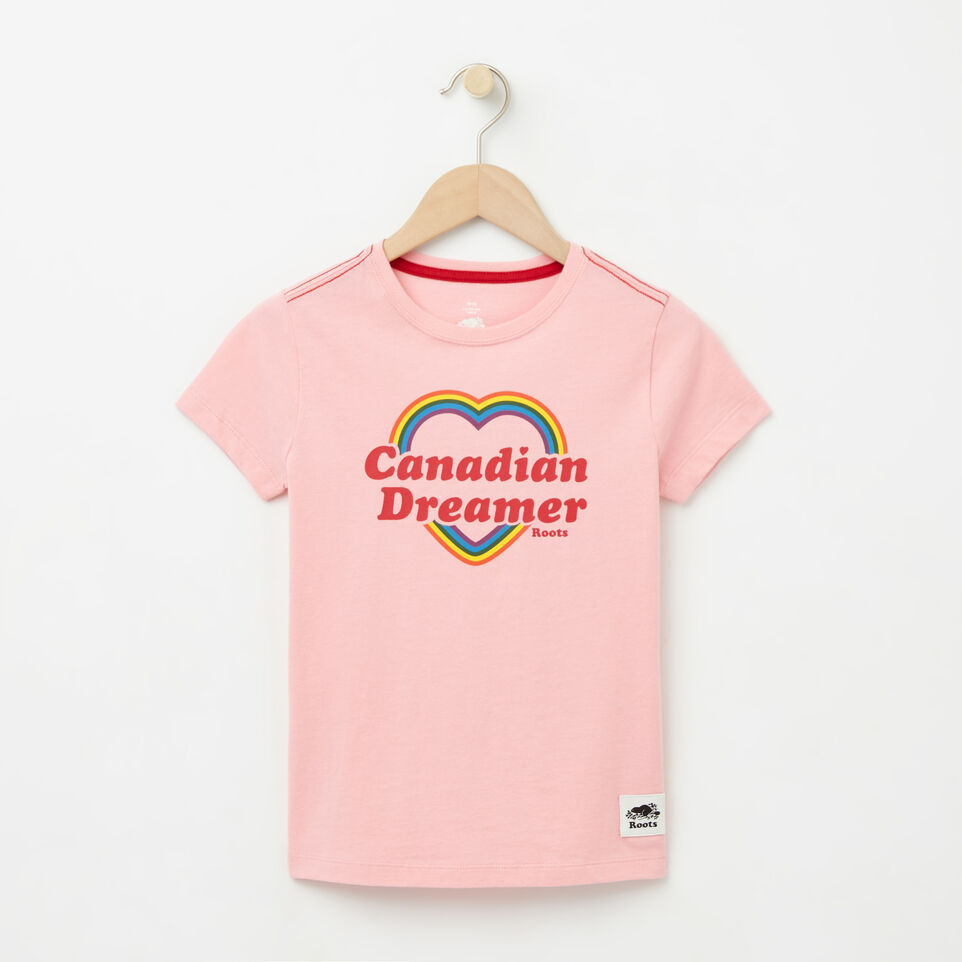 Roots-undefined-Girls Canadian Heart T-shirt-undefined-A
