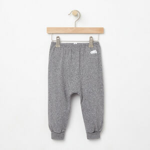 Roots-Kids New Arrivals-Baby's First Roots Pant-Salt & Pepper-A