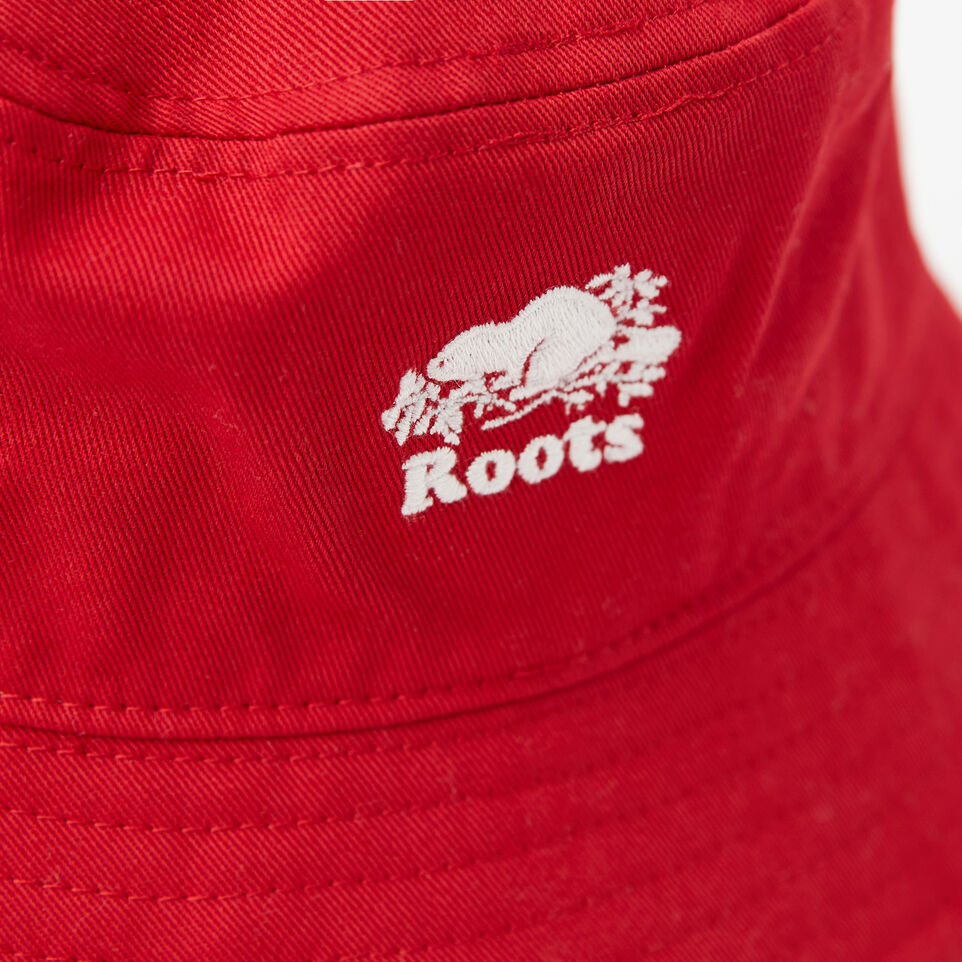 Roots-undefined-Toddler Canada Leaf Bucket Hat-undefined-D