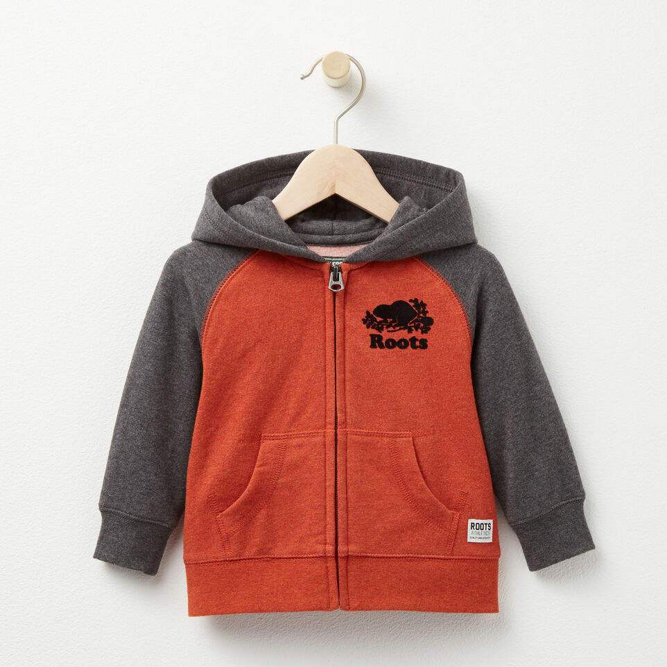 Roots-undefined-Baby Cozy Original Full Zip Hoody-undefined-A