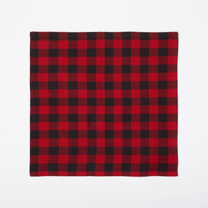 Roots-Men General Store-Buffalo Plaid Napkins 4 Pack-Lodge Red-A