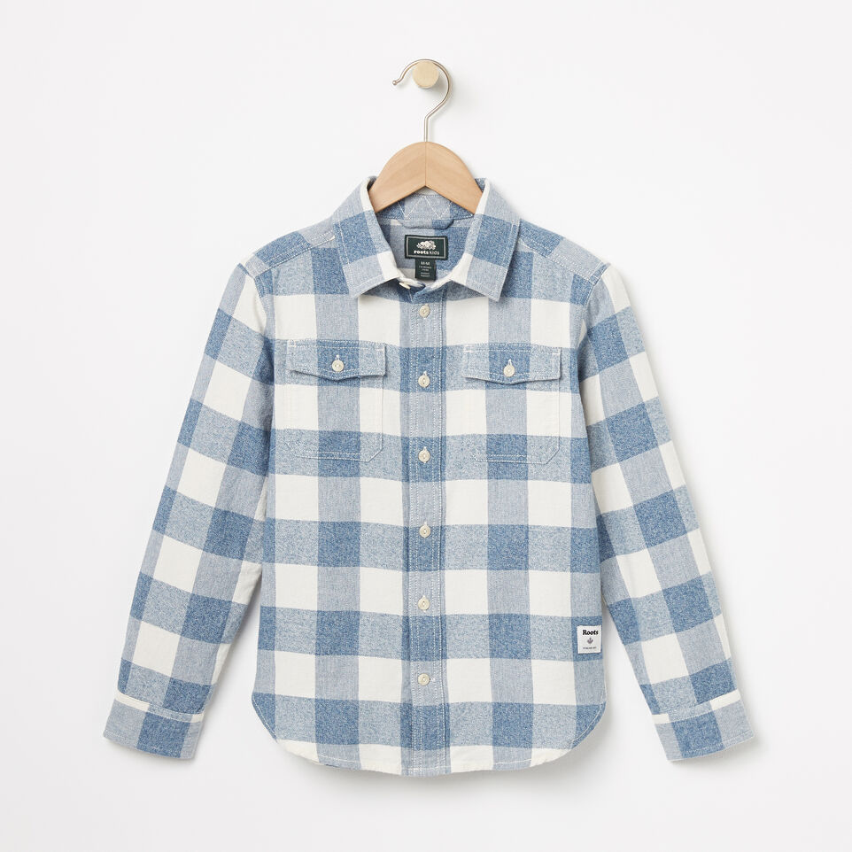 Roots-undefined-Boys Battleford Shirt-undefined-A