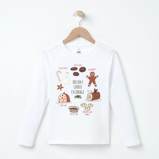 Girls Holiday Cookie Exchange T-shirt