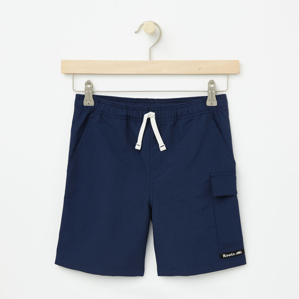 Roots-undefined-Garçons Short Camp Nylon-undefined-A