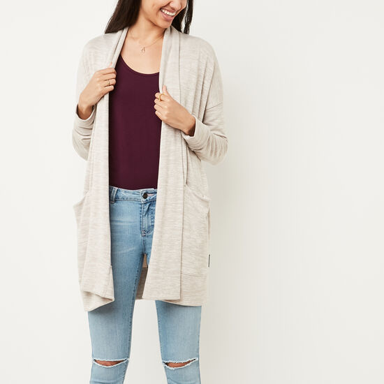 Roots-Women Sweaters & Cardigans-Melissa Cardi-Natural Mix-A