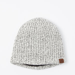 Roots-Men Hats-Snowy Fox Rib Toque-Snowy Fox-A