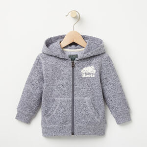 Roots-Kids Baby-Baby Original Full Zip Hoody-Salt & Pepper-A
