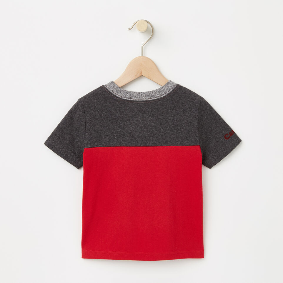 Roots-undefined-Toddler Canada Blocked Pocket Top-undefined-B