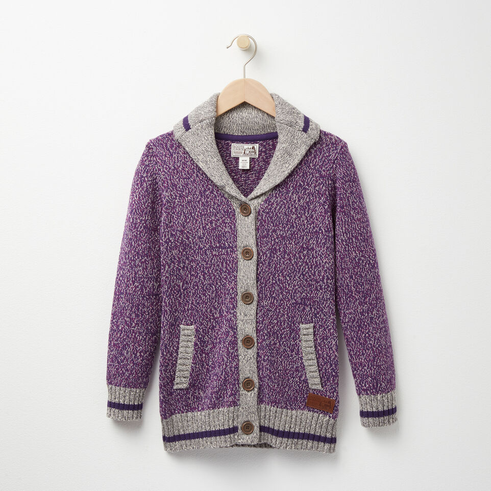 Roots-undefined-Girls Roots Cabin Shawl Cardigan-undefined-A