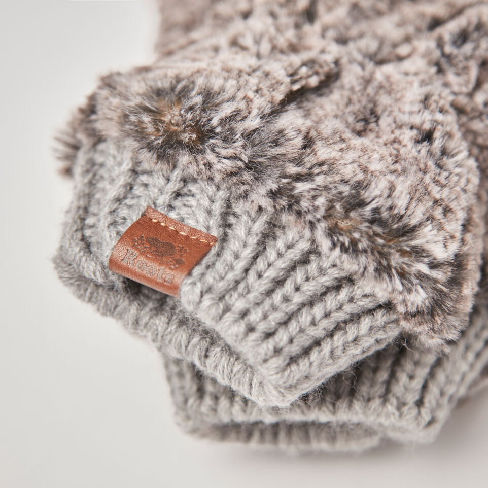 Roots-undefined-Anastasia Faux Fur Mitt-undefined-C