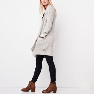 Roots-Gifts For Her-Marlowe Cardigan-White Polar Fox-A