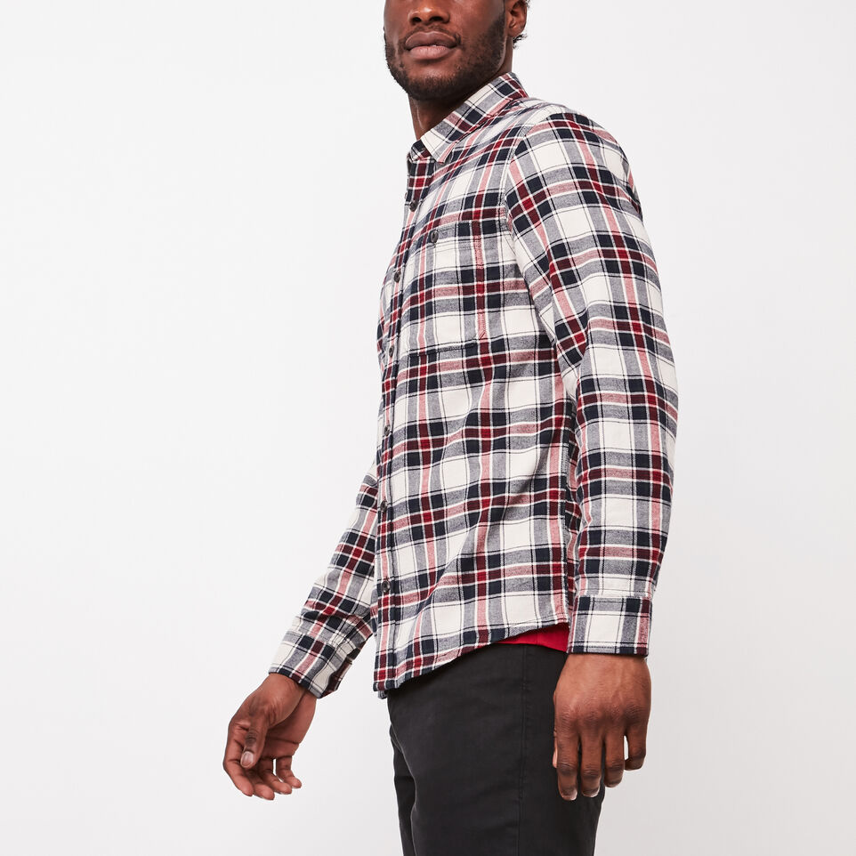 Roots-undefined-Burnaby Flannel Shirt-undefined-C